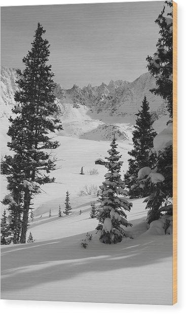The Quiet Season Wood Print