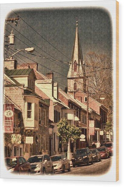 The Quintessential Semiquincentennial - Shepherdstown Wv  Wood Print