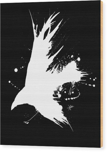 The Raven IIl Wood Print