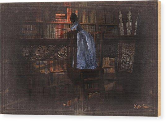 The Reader 07013101 - By Kylie Sabra Wood Print