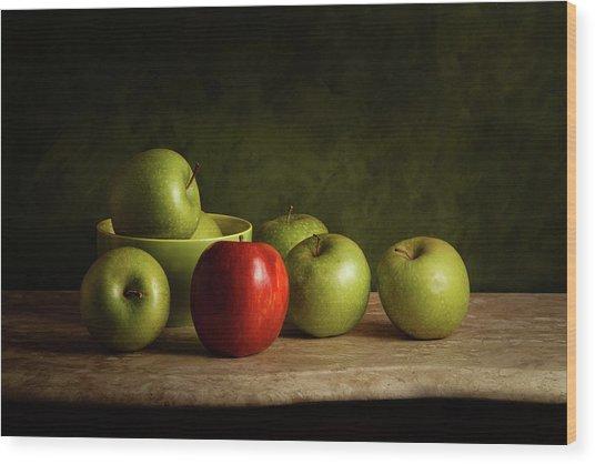 The Red Wood Print by Luiz Laercio