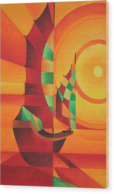 The Red Sea Wood Print