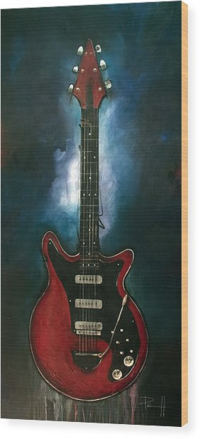 The Red Special Wood Print