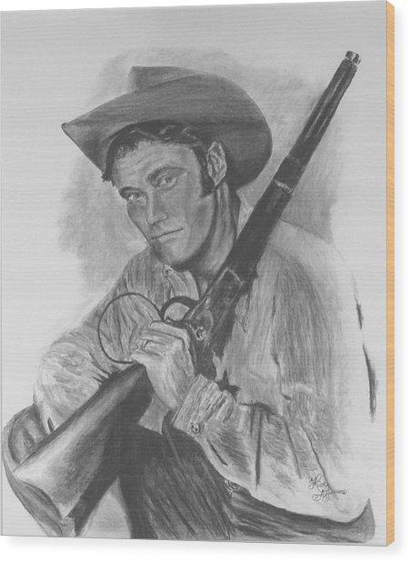 The Rifleman Wood Print