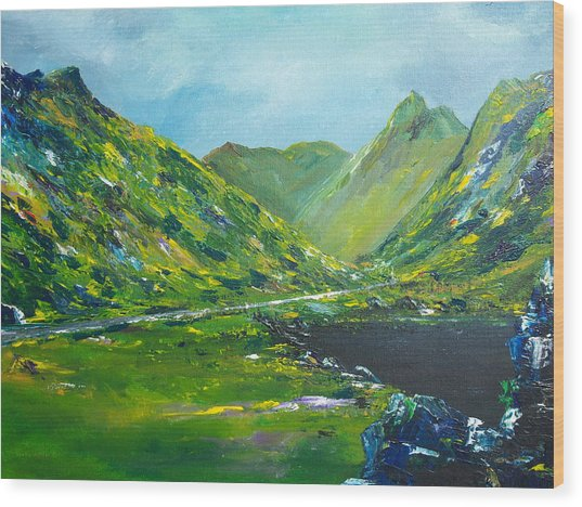 The Ring Of Kerry Wood Print
