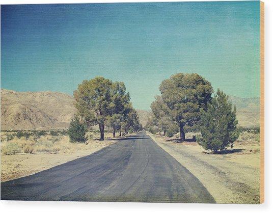 The Roads We Travel Wood Print