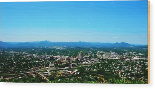 The Roanoke Valley Wood Print