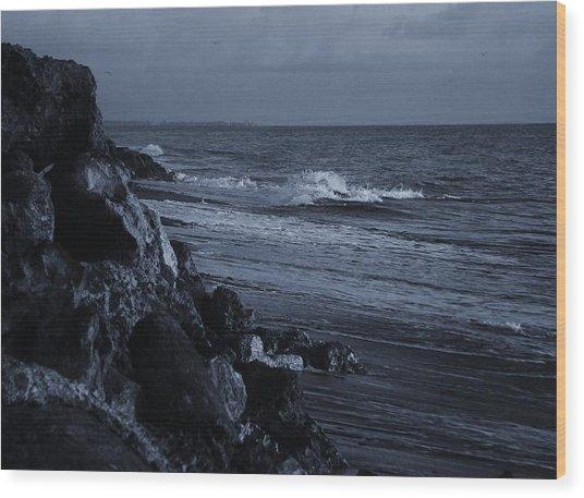 The Rocks Wood Print