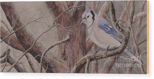 The Roost Sold Wood Print