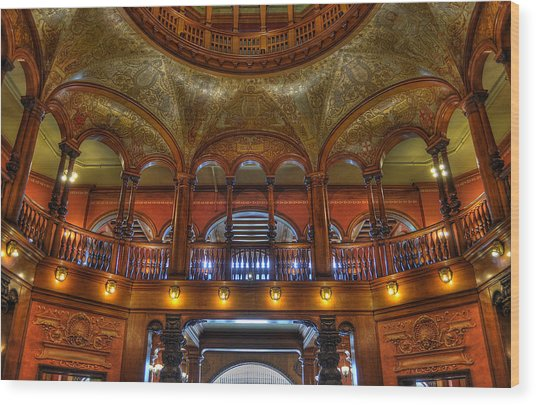 The Rotunda 2 Wood Print