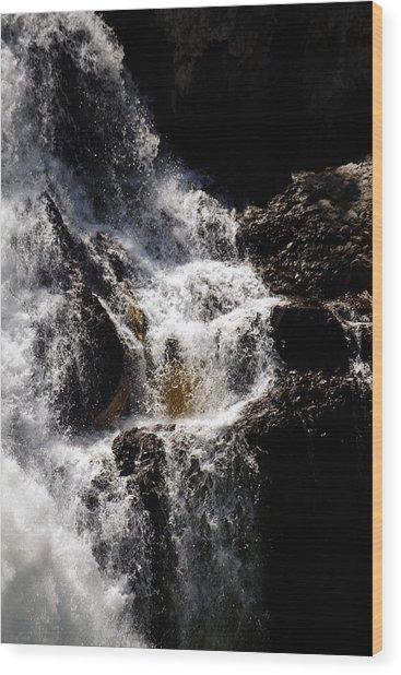 The Rush Wood Print
