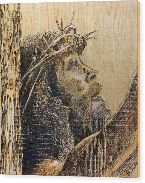 The Sacrifice Wood Print