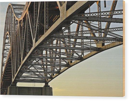 The Sagamore Bridge Wood Print