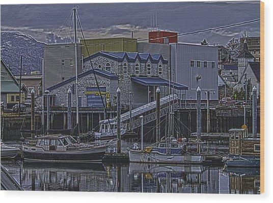 The Sailboat Wood Print