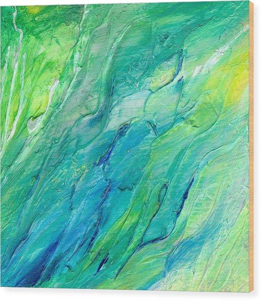 The Sea Wood Print by Rosie Brown