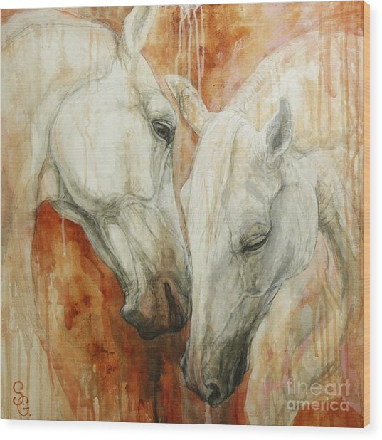 The Secret Wood Print by Silvana Gabudean Dobre