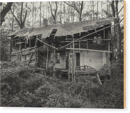 The Shack Wood Print