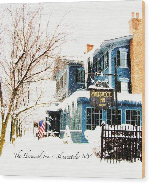 The Sherwood Inn Wood Print