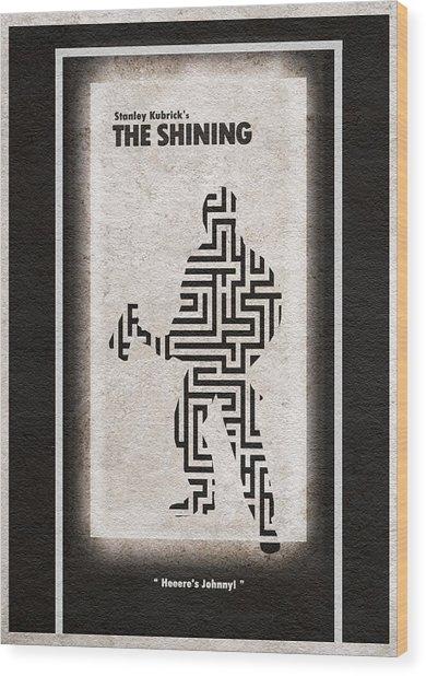 The Shining Wood Print