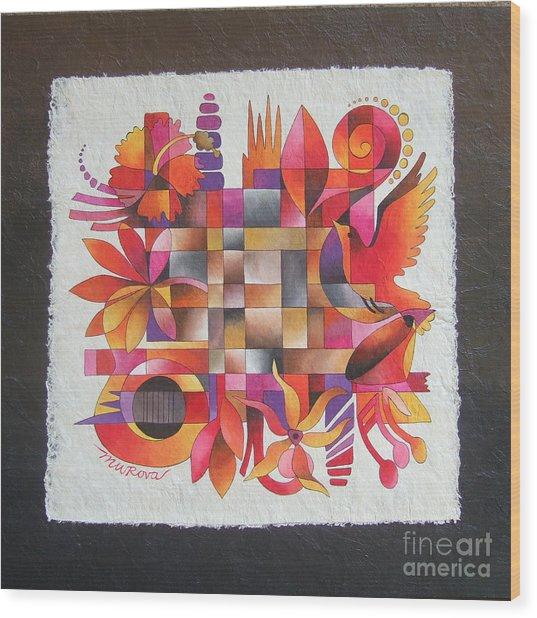 The Sigidrigi Mat Wood Print