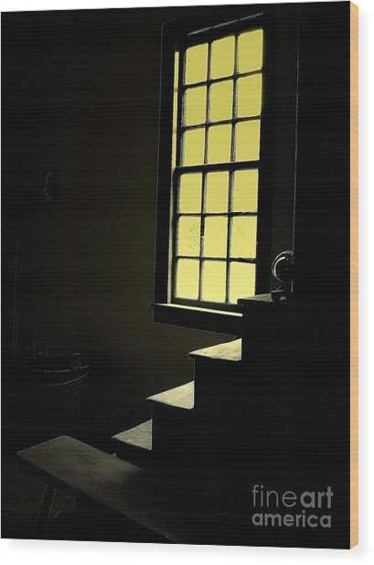 The Silent Room Wood Print