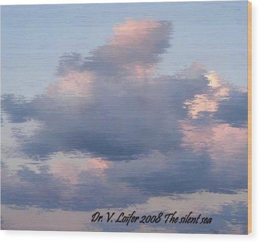 The Silent Sea Wood Print by Dr Loifer Vladimir