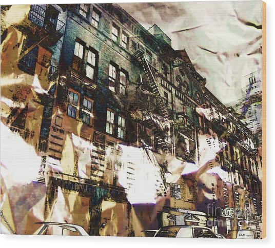 The Silver Factory / 231 East 47th Street Wood Print