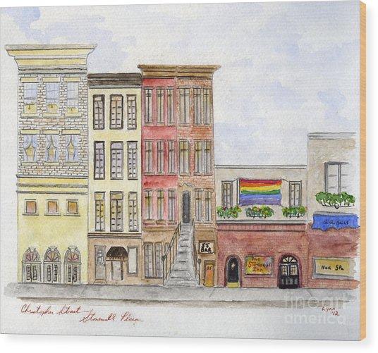 The Stonewall Inn Wood Print