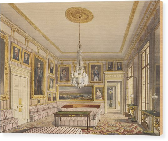 The Striped Drawing Room, Apsley House Wood Print