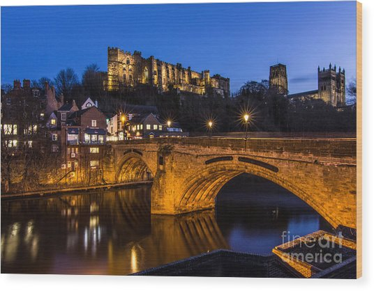 The Stunning City Of Durham In Northern England Wood Print