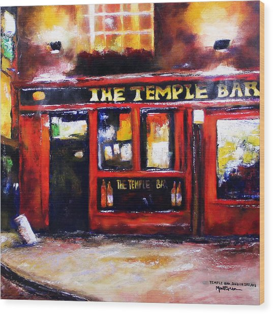 The Temple Bar Wood Print