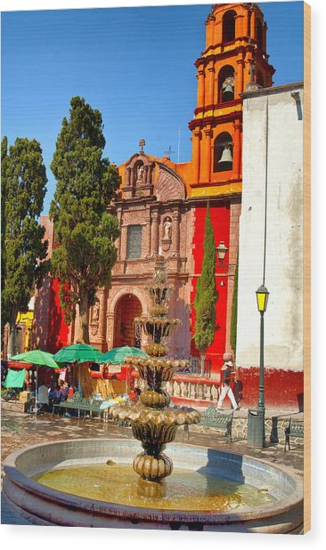 The Templo De San Francisco Wood Print