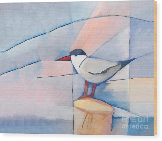 The Tern Wood Print