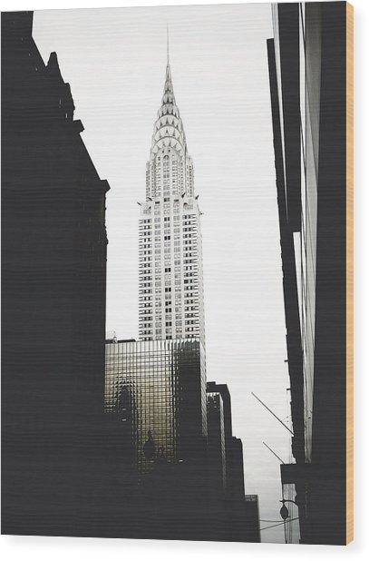 The Terraced Crown Of Manhattan Wood Print