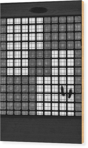 The Tetris Effect Wood Print