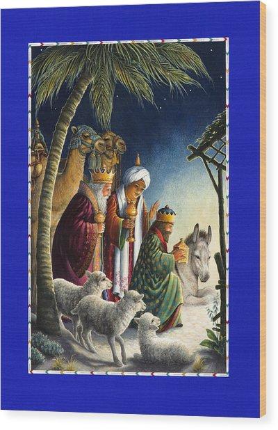 The Three Kings Wood Print