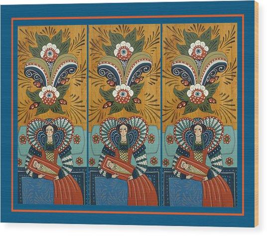 The Three Marys Wood Print by Leif Sodergren
