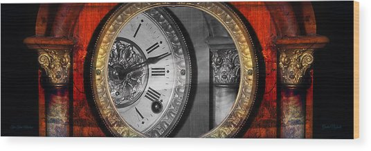 The Time Machine Wood Print