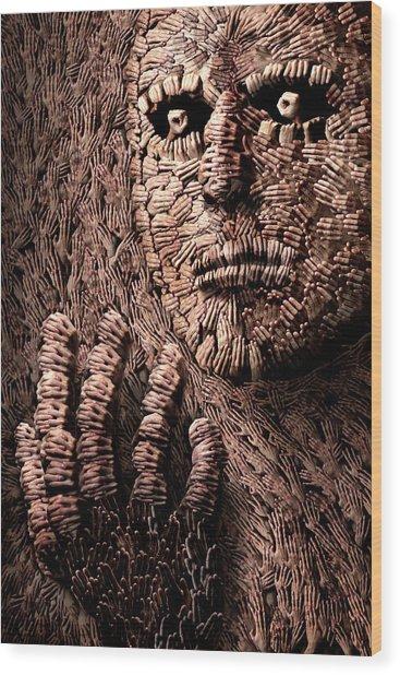 The Tool Of Tools Wood Print by Christophe Kiciak