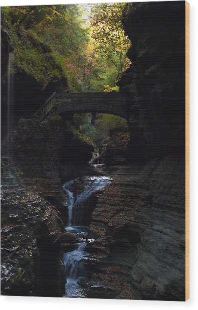 The Trail To Rivendell Wood Print