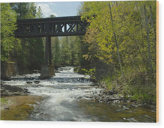 The Trestle Wood Print