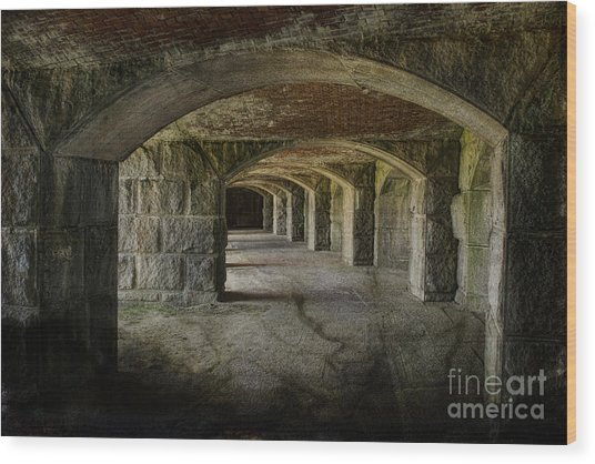 The Tunnels Wood Print