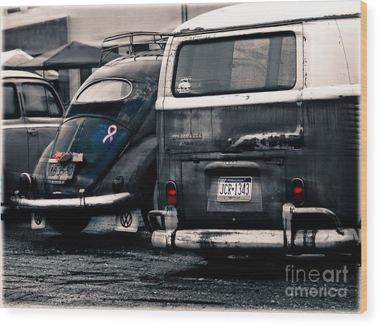 The Wagens  Wood Print by Steven Digman