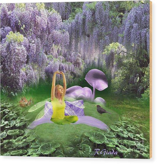 The Wake Up - Fantasy Art By Giada Rossi Wood Print