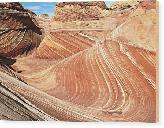 The Wave Rock #2 Wood Print