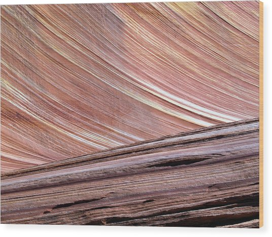 'the Wave' North Coyote Buttes 02 Wood Print