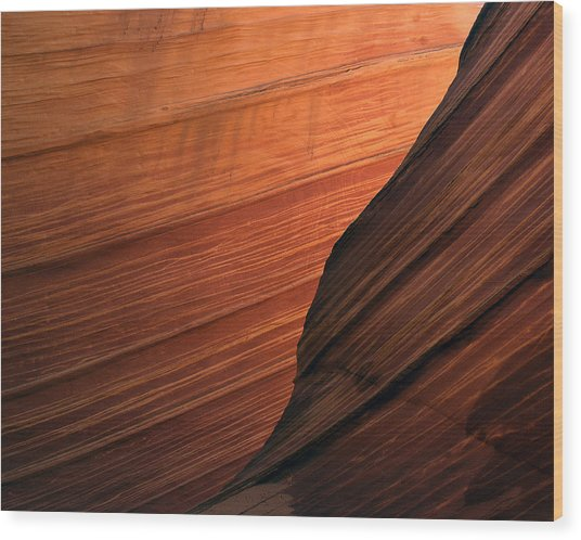 'the Wave' North Coyote Buttes 47 Wood Print