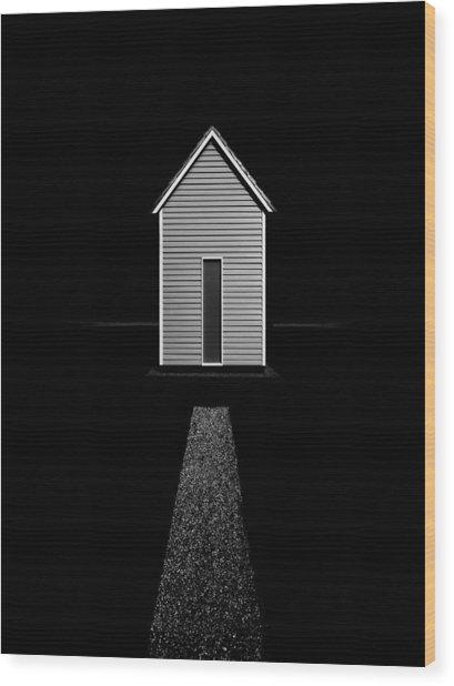 The Way Home Wood Print by Roberto Parola