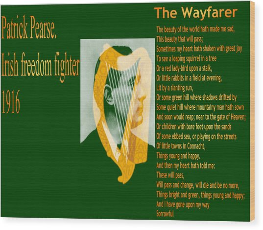 The Wayfarer Wood Print