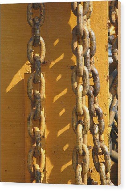 The Weakest Link Wood Print